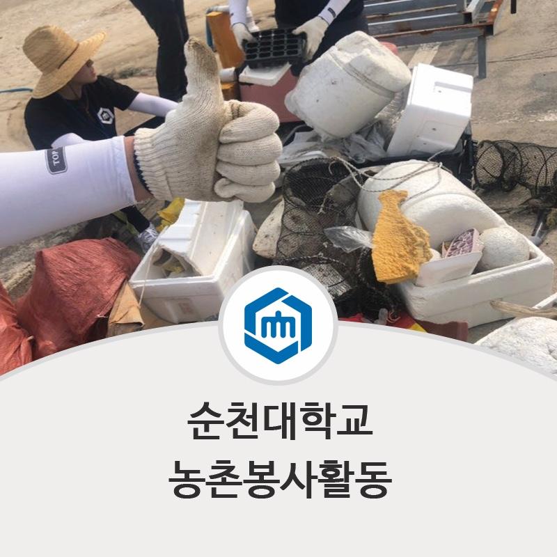순천대학교 농촌활동